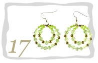 Beaded Earring Hoops