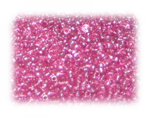 11/0 Fuchsia Silver-Lined Glass Seed Beads, 1 oz. bag