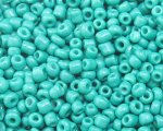 11/0 Aqua Opaque Glass Seed Bead, 1oz. bag