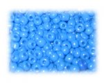 6/0 Turquoise Opaque Glass Seed Beads, 1 oz. bag