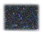 11/0 Dark Blue Rainbow Luster Glass Seed Beads, 1 oz. bag