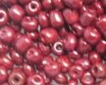 6/0 Brick Red Opaque Glass Seed Bead, 1oz. bag