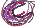 Purple Glass Bead Bundle