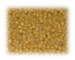 11/0 Bee Pollen Yellow Opaque Glass Seed Beads, 1 oz. bag