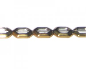 16 x 10mm Crystal Vintage-Style Glass Bead, approx. 6 beads