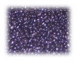 11/0 Dark Purple Metallic Glass Seed Beads, 1 oz. bag