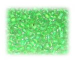 6/0 Green Inside-Color Glass Seed Beads, 1 oz. bag