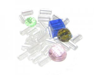 Approx. 2oz. Mix Broom Beads. No Returns!