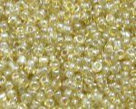 11/0 Gold Transparent Glass Seed Bead, 1oz. bag