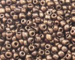11/0 Copper Metallic Glass Seed Bead, 1oz. bag