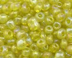 6/0 Yellow Luster Glass Seed Bead, 1oz. bag