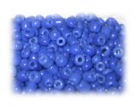 6/0 Royal Blue Opaque Glass Seed Beads, 1 oz. bag