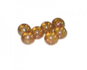 12mm Glowing Planet Galaxy Glass Bead, approx. 17 beads