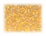 6/0 Yellow Orange Inside-Color Glass Seed Beads, 1 oz. bag