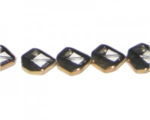 14mm Crystal Vintage-Style Glass Bead, approx. 5 beads