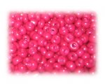 6/0 Deep Fuchsia Opaque Glass Seed Beads, 1 oz. bag