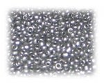 11/0 Deep Silver Ceylon Glass Seed Beads, 1 oz. bag