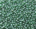 11/0 Dark Green Ceylon Glass Seed Bead, 1oz. bag