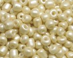 6/0 Champagne Ceylon Glass Seed Bead, 1oz. bag