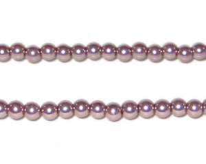 4mm Mink Glass Pearl Bead, approx. 113 beads