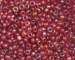 11/0 Red Luster Glass Seed Bead, 1oz. bag