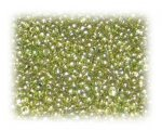 11/0 Gold Green Metallic Glass Seed Beads, 1 oz. bag