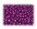 6/0 Deep Purple Opaque Glass Seed Beads, 1 oz. bag