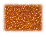 11/0 Orange Silver-Lined Glass Seed Beads, 1 oz. bag