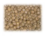 6/0 Sand Brown Opaque Glass Seed Beads, 1 oz. bag