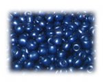 6/0 Midnight Blue Metallic Glass Seed Beads, 1 oz. bag
