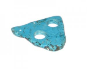 40 - 60mm Turquoise Pendant with 2 holes