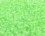 11/0 Apple Green Inside-Color Glass Seed Bead, 1oz. bag