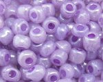 6/0 Violet Ceylon Glass Seed Bead, 1oz. bag