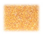 11/0 Apricot Inside-Color Glass Seed Beads, 1 oz. bag