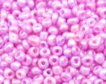 11/0 Pink Ceylon Glass Seed Bead, 1oz. bag