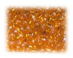 6/0 Orange Silver-Lined Glass Seed Beads, 1 oz. bag