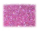 11/0 Fuchsia Rainbow Luster Glass Seed Beads, 1 oz. bag