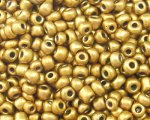 11/0 Gold Metallic Glass Seed Bead, 1oz. bag