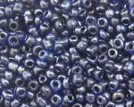 11/0 Navy Transparent Glass Seed Bead, 1oz. bag