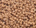 11/0 Wood Opaque Glass Seed Bead, 1oz. bag