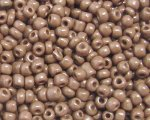 11/0 Bronze Opaque Glass Seed Bead, 1oz. bag