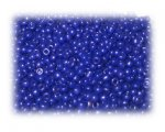 11/0 Dark Blue Opaque Glass Seed Beads, 1 oz. bag