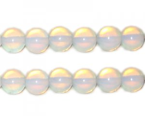 8mm Round Moonstone Bead, approx. 19 beads