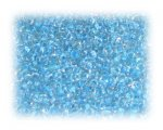 11/0 Baby Blue Inside-Color Glass Seed Beads, 1 oz. bag