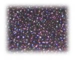 11/0 Black Rainbow Luster Glass Seed Beads, 1 oz. bag