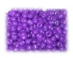 6/0 Bright Purple Opaque Glass Seed Beads, 1 oz. bag