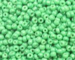 11/0 Grass Green Opaque Glass Seed Bead, 1oz. bag