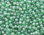 11/0 Green Transparent Glass Seed Bead, 1oz. bag