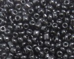 11/0 Black Opaque Glass Seed Bead, 1oz. bag
