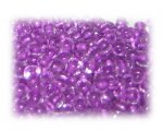 6/0 Violet Inside-Color Glass Seed Beads, 1 oz. bag